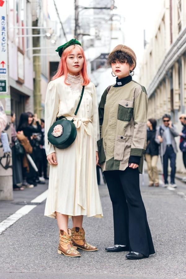 Tolle Militär Details - Modetrends Street Fashion