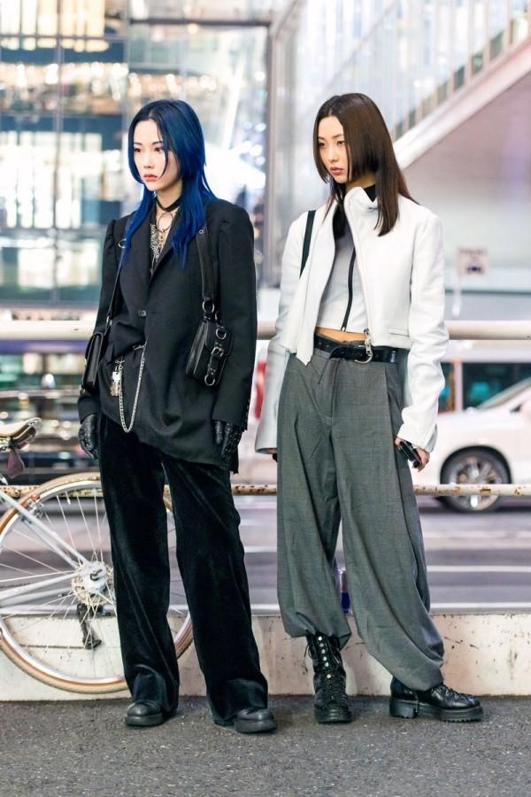 Verschiedene Anzüge - Modetrends Street Fashion
