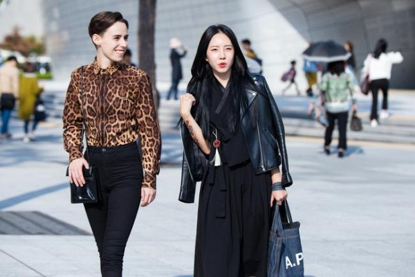 Διάφορα συνδυασμοί μοτίβων - Street fashion