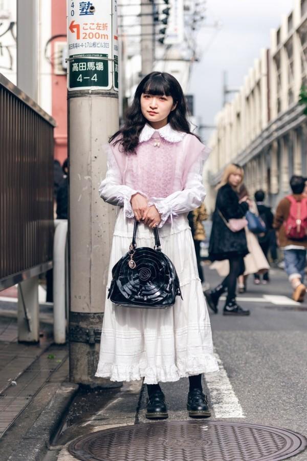Weißes Kleid - Schiere Mode - Modetrends Street Fashion