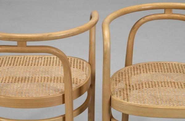Wiener Geflecht - wunderbare braune Stühle