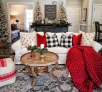 Winterdeko im Wohnzimmer –  machen Sie es sich gemütlich für die kalte Saison