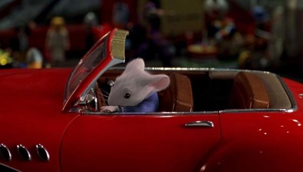 Wissenschaftler haben Ratten beigebracht winzige Autos zu fahren stuart little fährt auto im film
