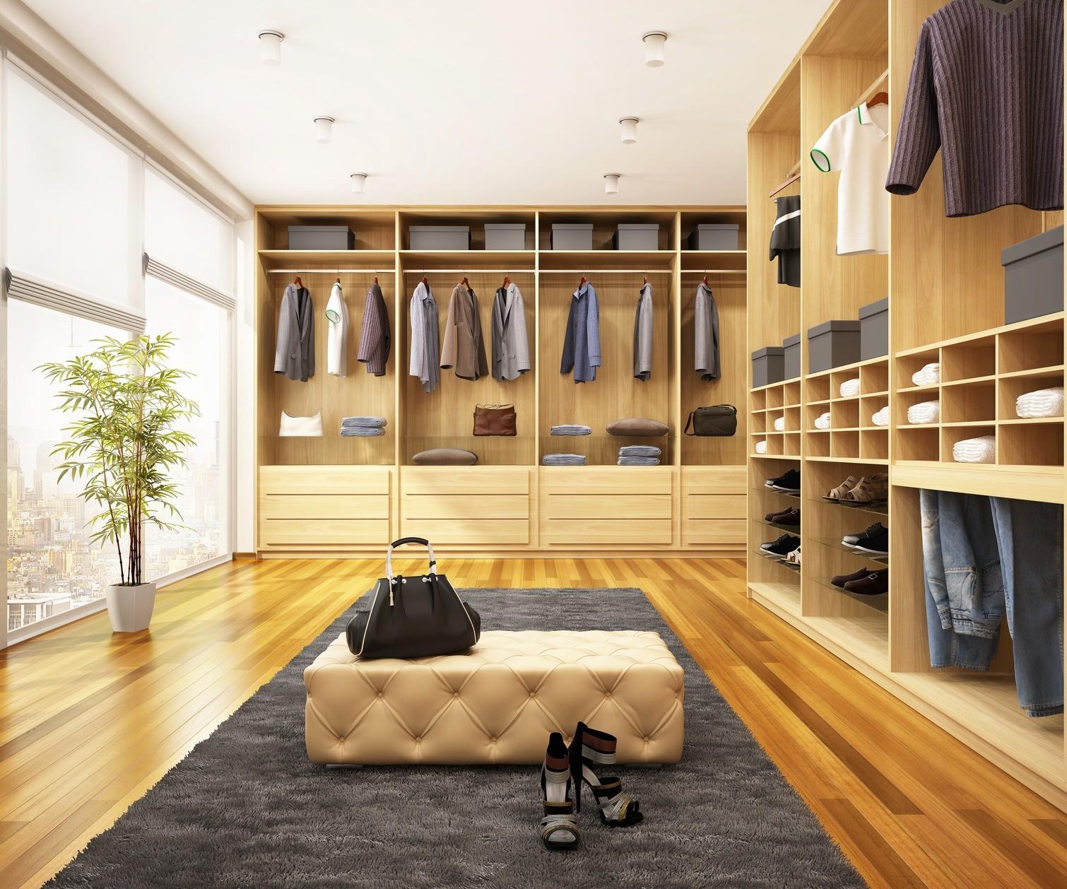 So Einfach Integrieren Sie Einen Begehbaren Kleiderschrank Im Schlafzimmer