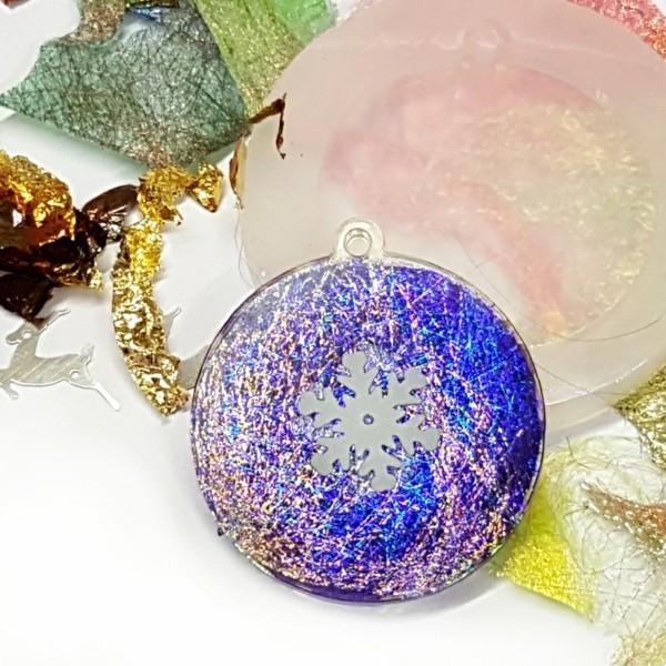 bastelideen für weihnachten mit gießharz