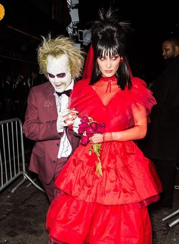 bella hadid 2018 Halloween Kostüm
