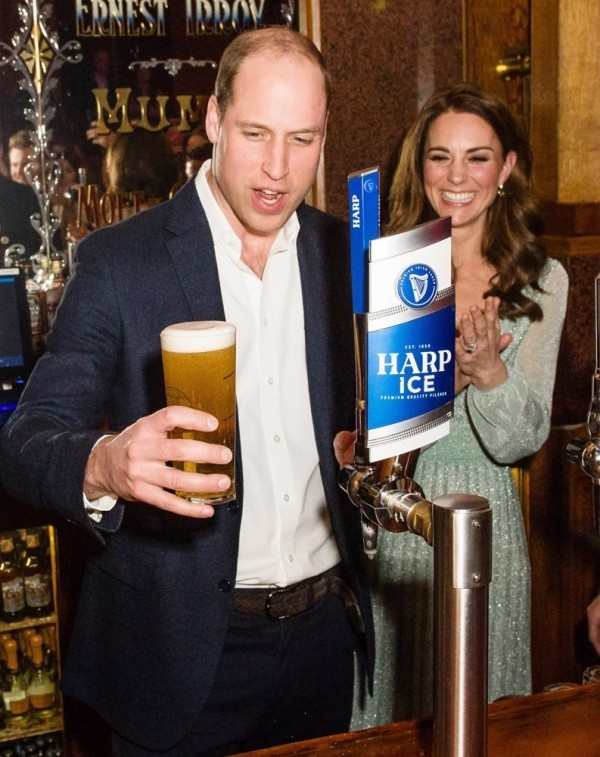 bier und andere produkte prinz william