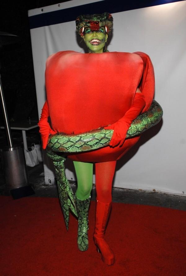 die verbotene Frucht 2006 Halloween Kostüm