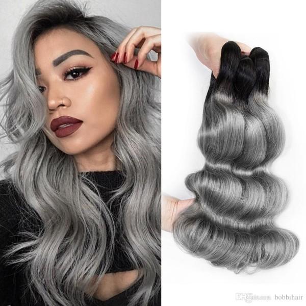 dunklere Varianten Haare grau färben