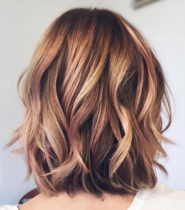frisuren für dünne haare - mehrere wunderbare Wellen