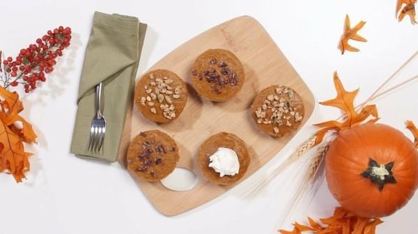 gesunde maca pulver rezepte kürbismuffins