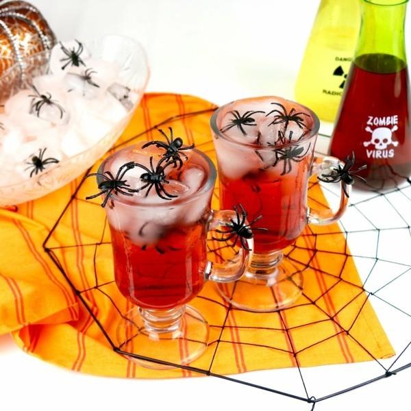 halloween buffet deko ideen
