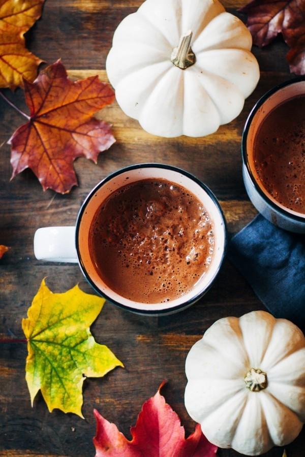 heiße schokolade mit kürbis und maca