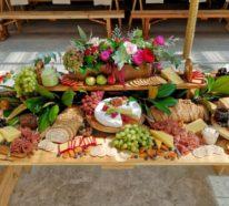 Kaltes Buffet Ideen – tolle Beispiele und Tipps, wie Sie einen anlockenden Grazing Table anrichten