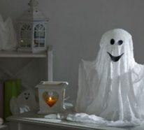 Gespenster basteln – mehr als 70 einfache und originelle Dekoideen zu Halloween