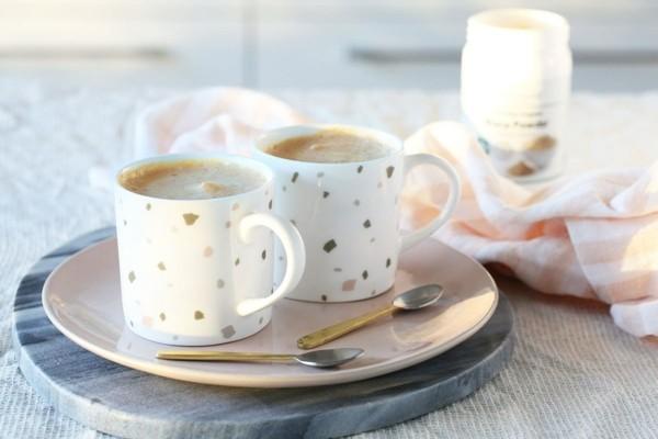 maca wirkung karamell latte zubereiten