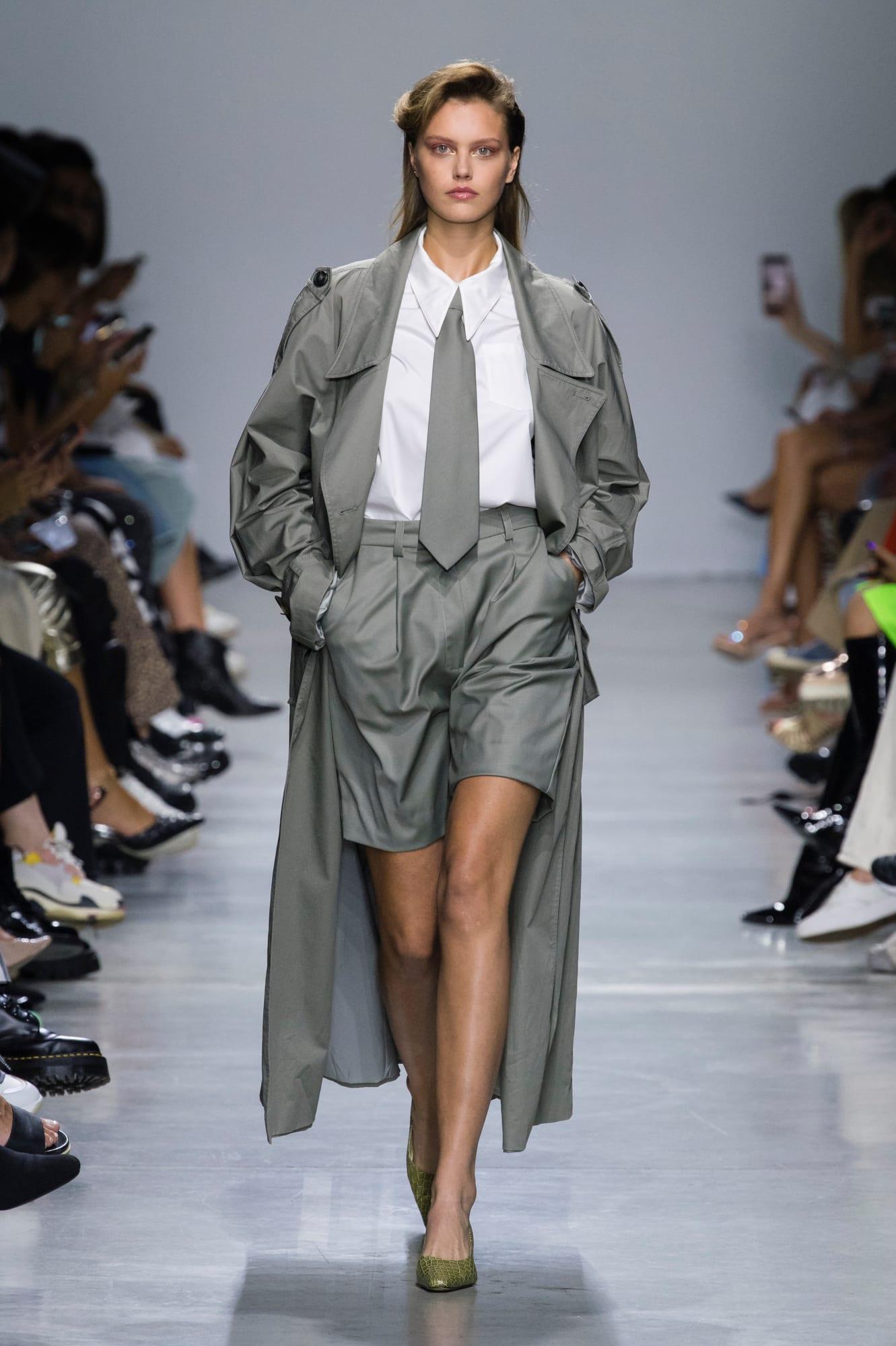 mailand fashion week offizielle kleider modetrends