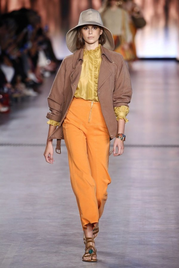 mailand fashion week sehr tolle farbe