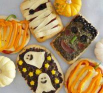 49 kreative Pizza Belag Ideen zu Halloween