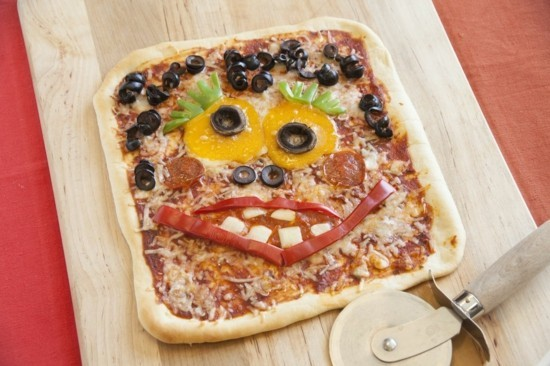 monster halloween pizza belag ideen