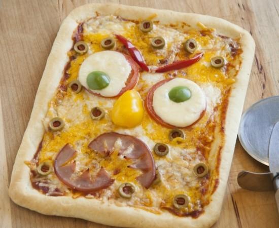 pizza belag ideen halloween monster