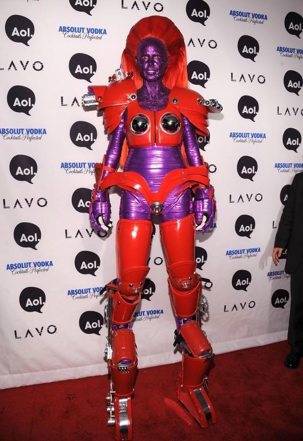 robot 209 Kostüm Heidi Klum Halloween
