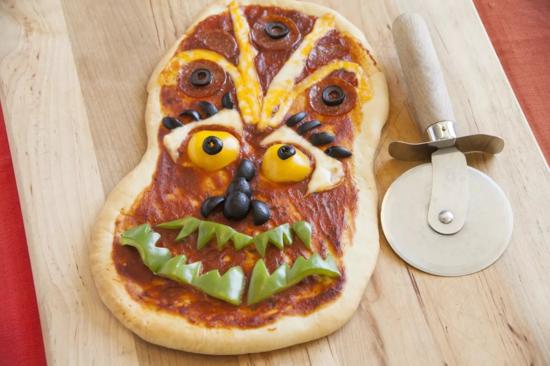 teufel pizza belag ideen halloween