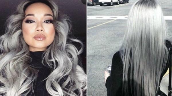 tolle Ideen wie Sie Haare grau färben