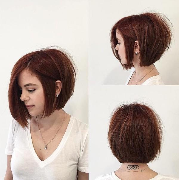 tolles rotes Haare - frisuren dünnes haar