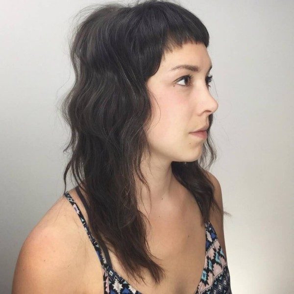 trendige frisuren - Body mit Mustern - tolle Idee