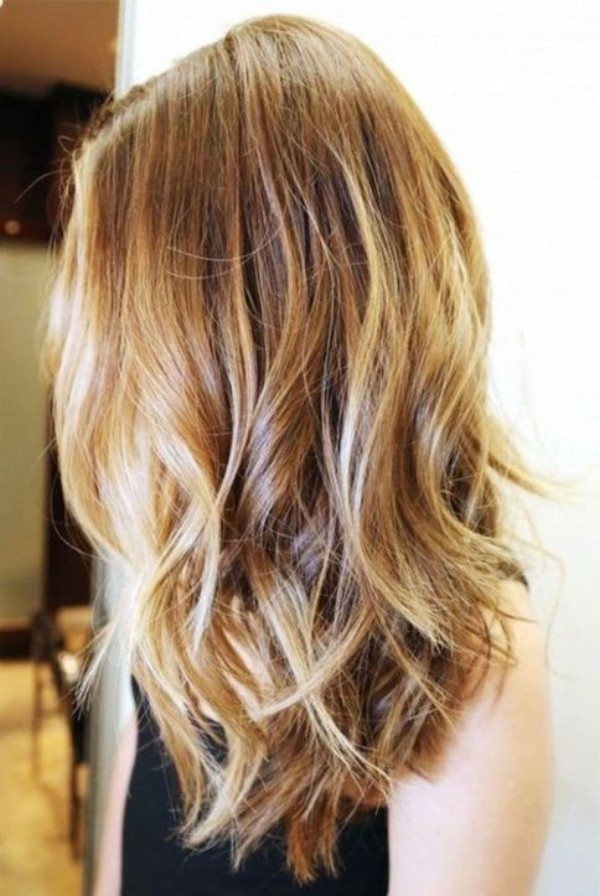 verschiedene blonde Nuancen - frisuren für dünne haare