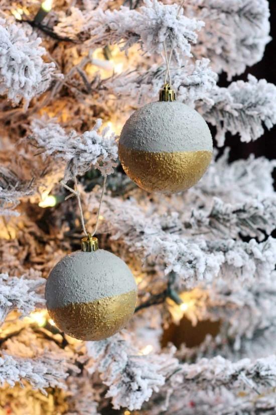 wunderschöne weihnachtsdeko aus beton selber machen