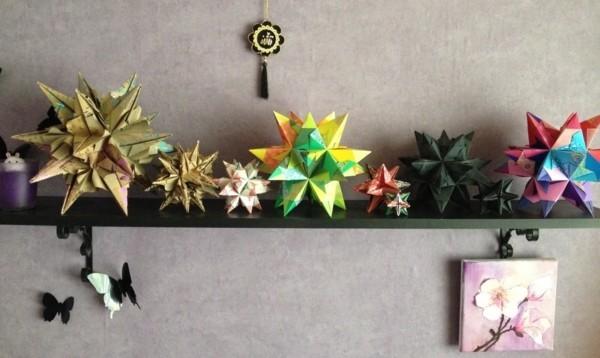 Bascetta Stern Wanddeko Ideen 3D Bascetta Sterne