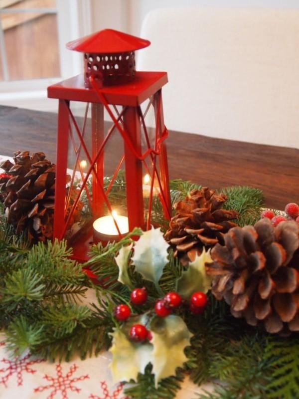 Dekoration für weihnachten - Kerzen dekorieren