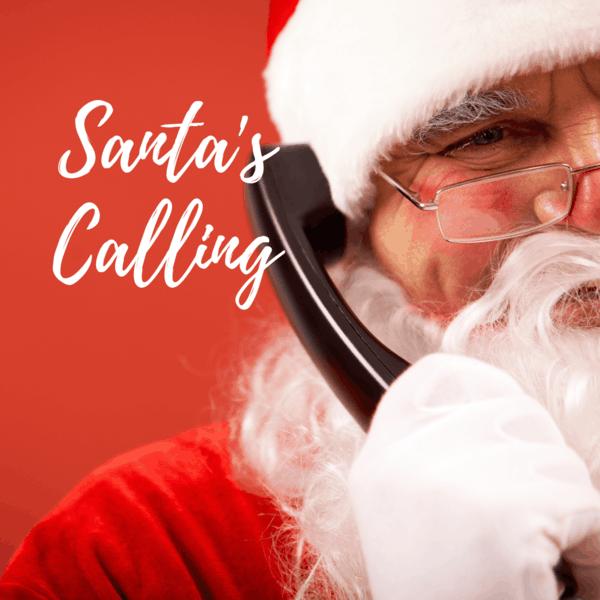 Den Weihnachtsmann anrufen Weihnachtsgeschenke Kinder