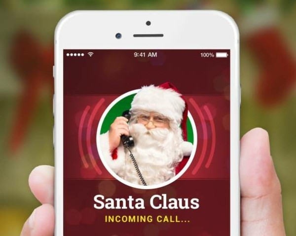 Den Weihnachtsmann anrufen kostenlose Apps