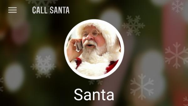 Den Weihnachtsmann anrufen neue Technologien