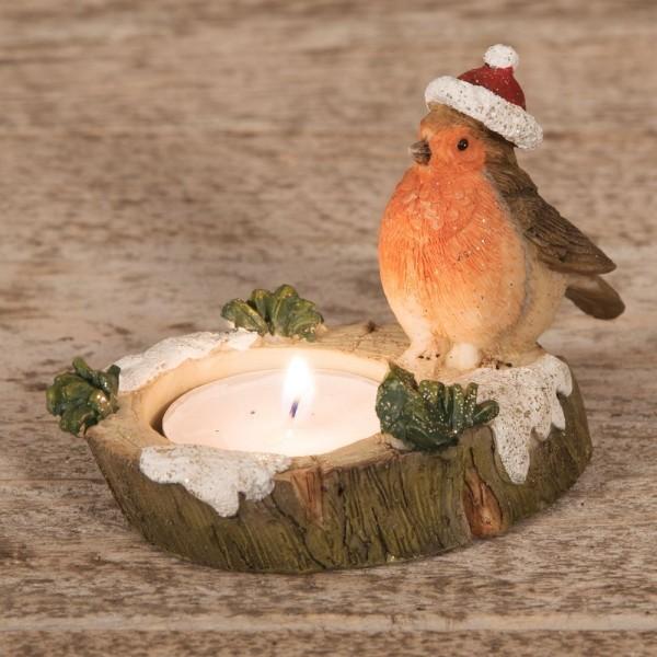 Ein Vogel Kerzendeko Ideen Kerzen dekorieren
