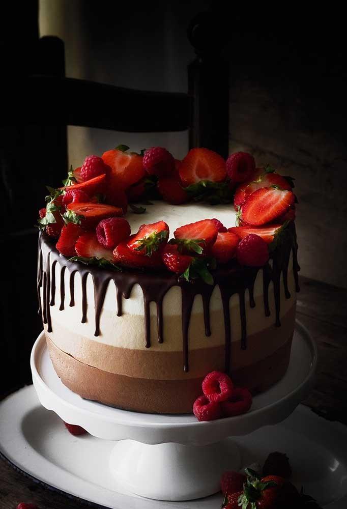 Erdbeeren Ideen - Kuchendeko weihnachten