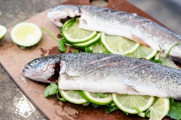 Forelle grillen Rezept gesunde Ernährung Forelle Nährstoffe