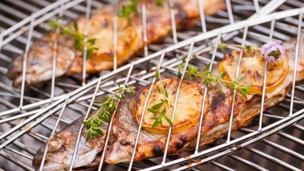Forelle grillen Rezept gesunde Ernährung Forelle gesunde Vorteile