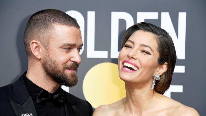 Justin Timberlake und Jessica Biel ein starkes Paar in Hollywood jedoch Spekulationen über Ehekrach