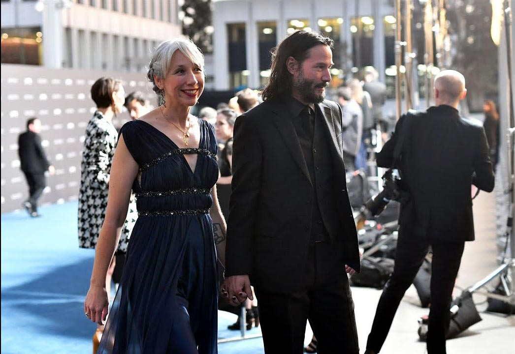 Keanu Reeves Alexandra Grant glücklich verliebt erster Pärchen-Auftritt auf dem roten Teppich