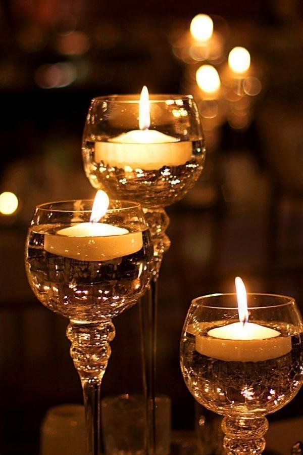 Kerzen dekorieren Kerzendeko Weihnachten Ideen
