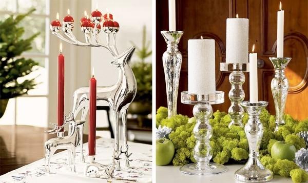 Kerzen dekorieren Kerzenständer Ideen