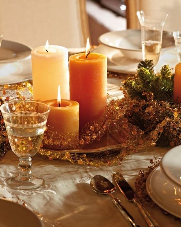 Kerzen dekorieren neutrale Kerzendeko Inspiration