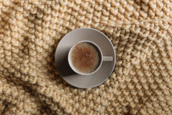 Kleine Tasse - tolle Idee für Chaga Tee