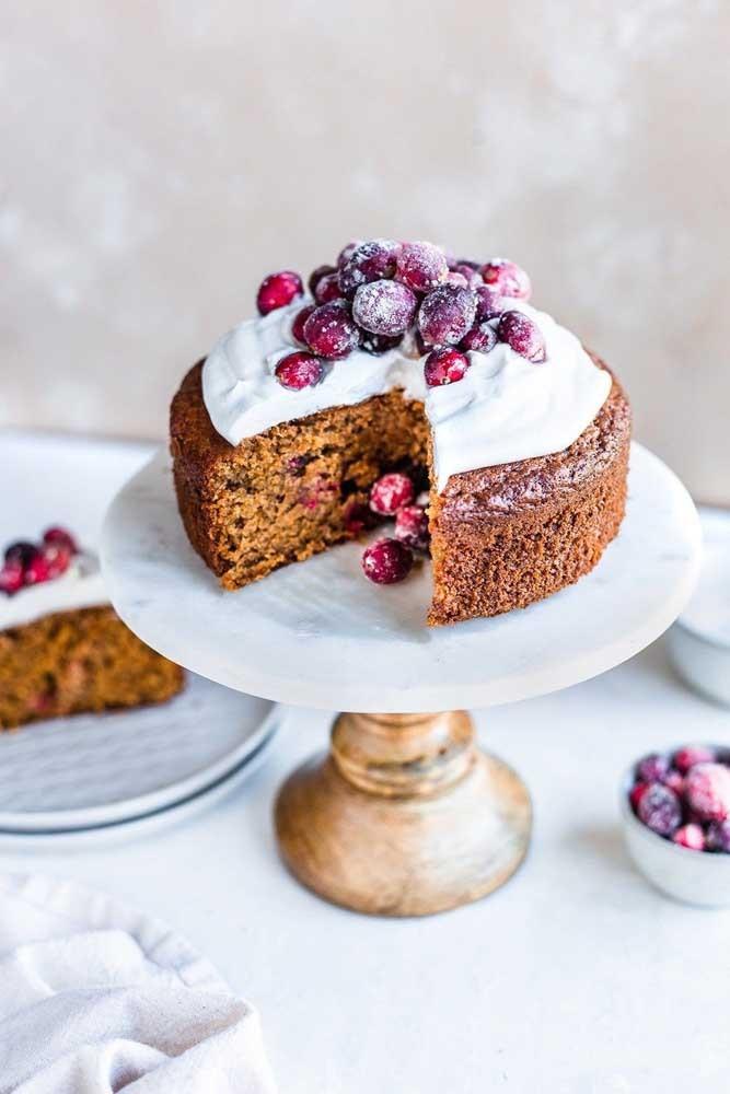 Kuchendeko einfaches Kuchen Deko weihnachten