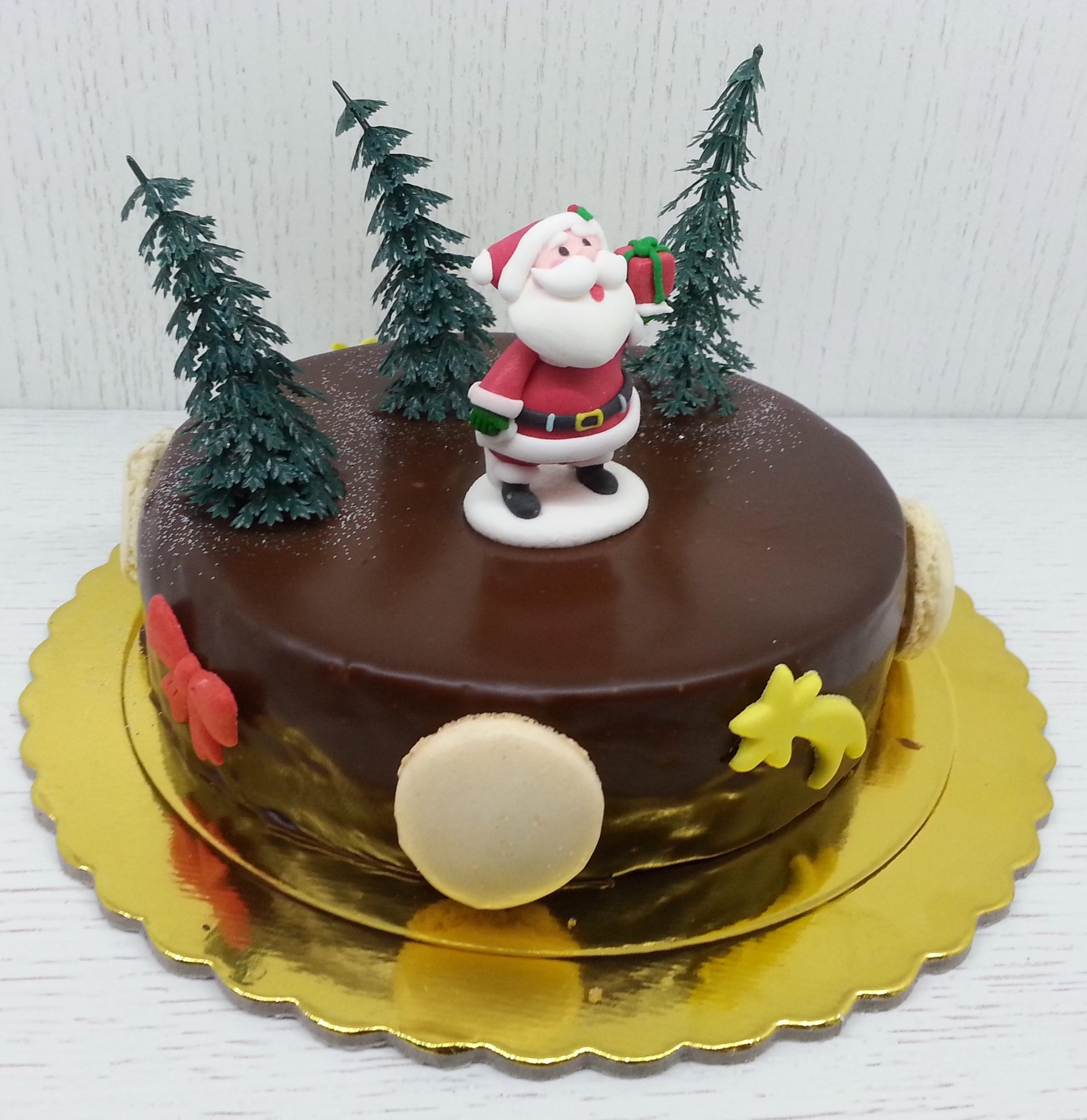 Kuchendeko weihnachten schlichte Motive