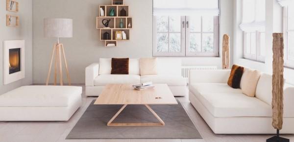 Ledersofa reinigen weiße Wohnzimmereinrichtung
